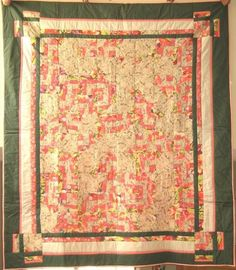 's Originals / A Healing Place - Connie is a liturgical vestments designer and fabric artist, quilt block designer and maker; All Block, Wind Of Change, Quilt Blocks, Bohemian Rug, Spirituality, Quilts, Blanket, My Favorite Things, Rugs