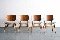 classic molded plywood chair