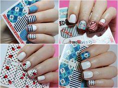 Слайдер-дизайн Milv N 416, N 398, S 202 и видео-урок Nail Decals, Illusions, Nails, Blog, Beauty, Beautiful, Finger Nails, Ongles, Blogging