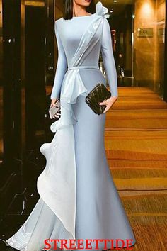Name Solid color gauze stitching evening dress Brand Newsuki SKU Material Polyester Occasion? Date/Vacation/Daily Life Style Casual/Abendkleid Gender Women Product ?Note All? Dresses Elegant, Modest Dresses, Sexy Dresses, Beautiful Dresses, Fashion Dresses, Prom Dresses, Formal Dresses, Wedding Dresses, Romantic Dresses