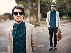 Una de las recomendaciones de los street-stylers en gafas de sol para hombre, las Ray-Ban Wayfarer originales