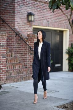 What To Wear To Work In The Winter - 17 Winter Office Outfit Ideas (Part - Style Motivation Business Outfit Damen, Business Outfits, Business Attire, Business Fashion, Winter Office Outfit, Office Outfits, Casual Outfits, Fashionable Outfits, Work Outfits