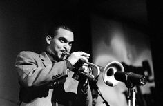 New Orleans jazz trumpeter Irvin Mayfield performing at Snug Harbor Jazz Club