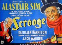 1951 film release Scrooge (A Christmas Carol), starring Alastair Sim - (GB)