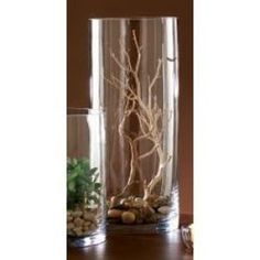 Tag Tall Glass Cylinder Candle Holder By Tag - Home Decorations