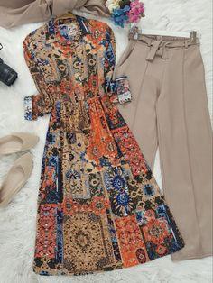 Hijab Fashion, Fashion Dresses, I Dress, Shirt Dress, College Fashion, Western Outfits, Business Outfits, Designer Dresses, Casual Outfits