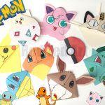Pokemon Go Bookmark Corners - 8 of the favourite Pokemon characters plus a Poke…