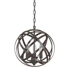 $178 - Capital Lighting Axis 3 Light Globe Pendant & Reviews | Wayfair