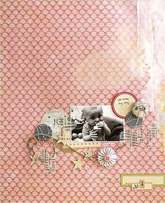 Love the use of 12x12 patterned paper again...I never know what to do with it besides cut it up...this is cool!