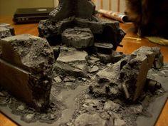The Mandulian Chapel: Building City Ruins pt 2