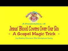 Jesus' Blood Covers Over Our Sin - A Gospel Magic Trick - LIVE Workshop