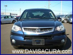 A Frontview of The 2007 Acura. Small Suv