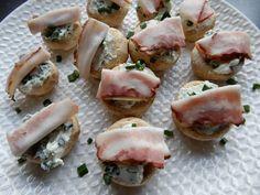 Gevulde champignons met kruidenkaas en katenspek – RECEPT