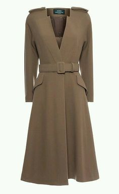 Best 11 The Buxton coat is a waisted dress coat that is often worn as a special occasion piece. Designed to have an upright collar that can be folded down to create… – SkillOfKing. Modest Fashion, Hijab Fashion, Coat Dress, Dress Up, Coats For Women, Clothes For Women, Hijab Style, Mode Jeans, Stylish Coat