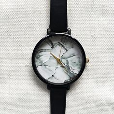 Women Watches Marble Watch Minimalist Watch Wrist by FreeForme