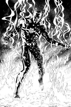 Miracleman by Garry Leach.