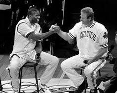 Magic Johnson and Larry Bird I Love Basketball, Boston Strong, Magic Johnson, Larry Bird, Purple Reign, World Of Sports, Boston Celtics, My Hero, Coaching