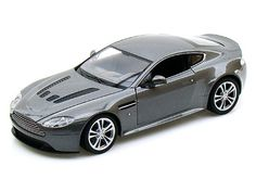 Santas Tools and Toys Workshop: Toy: 2010 Aston Martin V12 Vantage 1/24 Grey