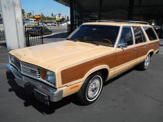 This very similar to the Ford station wagon I recall my mother driving when I was a young child. Unfortunately it lasted so long, it was also the vehicle I learned to drive in...talk about embarrassing.