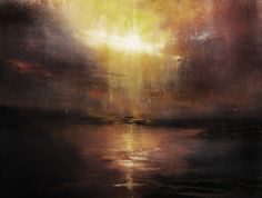 "Saatchi Online Artist: Maurice Sapiro; Oil, 2010, Painting ""The Shoal"""