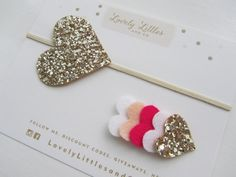 Hey, I found this really awesome Etsy listing at https://www.etsy.com/listing/194163916/girlbaby-pink-glitter-gold-heart