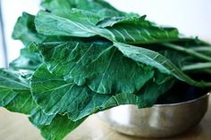 Collard greens are an incredibly nutritious and healing green leafy vegetable that contains anti-viral, anti-biotic, anti-inflammatory and anti-cancer compounds. They are packed with vitamins A, C & B-complex and minerals such as iron, calcium, selenium, and zinc. They are also exceptionally rich in vitamin K and omega-3 fatty acids which are very important for neurological disorders especially those affecting the brain.