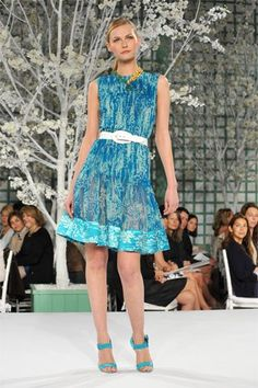 Oscar de la Renta Resort 2009 Fashion Show - Tatyana Usova