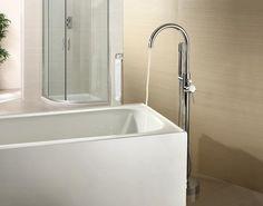 Grifo monomando sobre SUELO bañera/ducha DEBRIO para bañera exenta - Entorno…