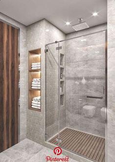 small bathroom decor and tips on bathroom remodel Modern Bathroom Design, Bathroom Interior Design, Design Kitchen, Interior Paint, Bathroom Inspiration, Bathroom Ideas, Bathroom Mirrors, Bathroom Shelves, Budget Bathroom