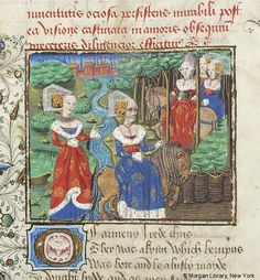 Medieval Manuscript Images, Pierpont Morgan Library, Confessio amantis. MS M.126 fol. 74v