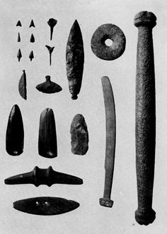 Mousterian, Paleolithic, and Neolithic Franch flint ...