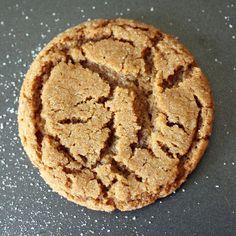 gingersnap cookies from @RachelCooksBlog