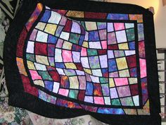 Majic Tiles  Sewn by Kathy