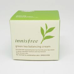 Innisfree Green Tea Balancing Cream 50ml for Normal to Combination Skin Korea  #Innisfree