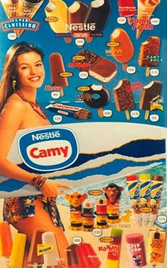 Helados Camy - my favourite Muá Muá