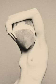 The classical, modern, contemporary and future masters of nude photography - conversations at the intersection of art, photography, eroticism and philosophy. Fencing Mask, Photos Du, Masquerade, Erotica, Editorial Fashion, Fence, Black And White, Snow White, People
