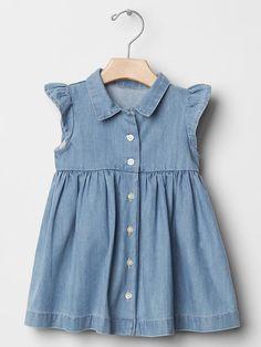 Denim shirtdress Product Image