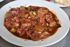 Beef Cheek stew at Pinotxo Bar