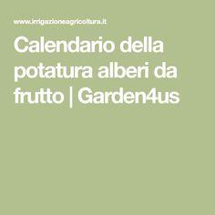 Calendario della potatura alberi da frutto | Garden4us