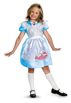 Alice Classic Costume - Small @ niftywarehouse.com #NiftyWarehouse #AliceInWonderland #Alice #Wonderland #Gifts
