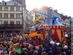 Le Carnaval de Granville, l'un des plus vieux de France