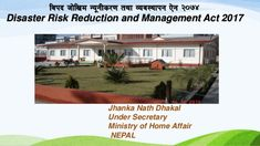 The Final Seminar of the Project for Assessment of Earthquake Disaster Risk for the Kathmandu Valley in Nepal was held on 14 February The public seminar … Earthquake Disaster, Acting, Management