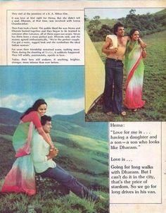 Hema Malini -Dharmendra