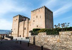 El alcázar de Medina de Pomar.