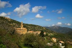 """Feliceto is a small village in the region of Balagne, Its population is 166 inhabitants, altitude is 300 m above the sea level. Besides the church, the main village's attraction is local glass-works. The name """"Feliceto"""" comes from Latin filicaria or filix meaning ferns."""