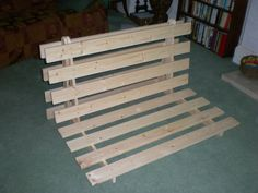 Picture of How To Make A Fold out Sofa/Futon/Bed Frame