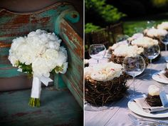 farm inspiration | peonies - love the bird nest flowers! i heart peonies