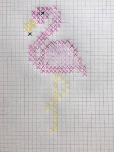 Kanaviçe işlemeyi seviyorsanız ve flamingo desenli kanaviçe, etamin şablonl. Cross Stitch Bookmarks, Cross Stitch Cards, Cross Stitch Borders, Cross Stitch Animals, Cross Stitch Designs, Cross Stitching, Cross Stitch Patterns, Crewel Embroidery, Cross Stitch Embroidery