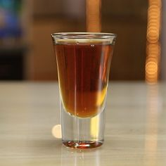 It's simple, it's potent, it's even a little intimidating, it's the Liquid Cocaine Shot. To make this super strong shooter, combine 151 proof rum, Jägermeister, and Rumplemintz, and bang, you have a cocktail that'll get you tipsy in about two seconds flat.