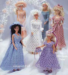 Crochet Pattern Central Barbie Clothes : Victorian Era 11 1/2